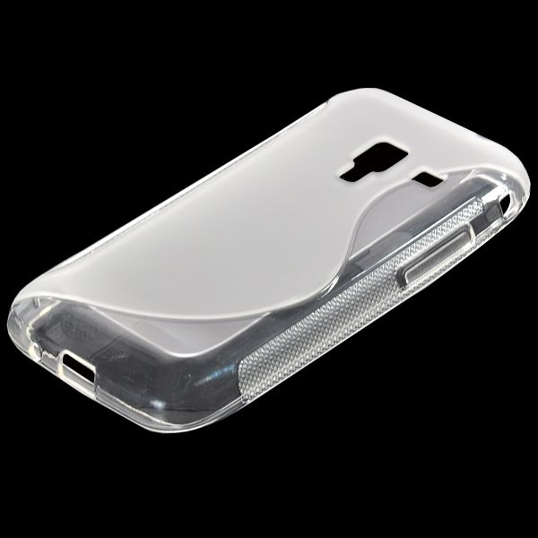 S-Line Transparent (Klar) Samsung Galaxy Ace Plus Skal