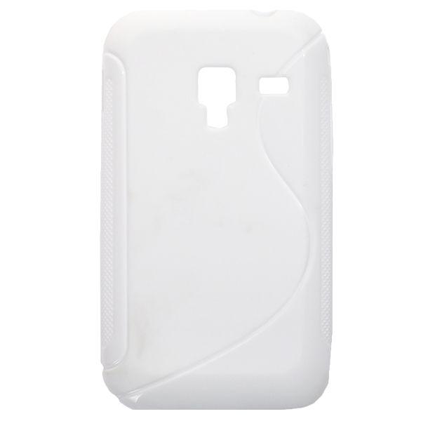 S-Line Massive (Vit) Samsung Galaxy Ace Plus Skal