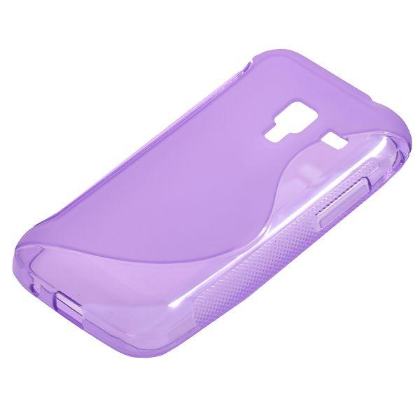 S-Line Transparent (Lila) Samsung Galaxy Ace Plus Skal