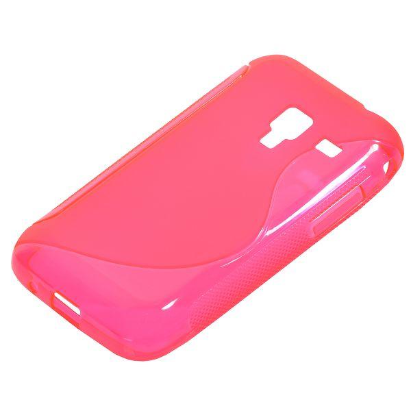 S-Line Transparent (Het Rosa) Samsung Galaxy Ace Plus Skal