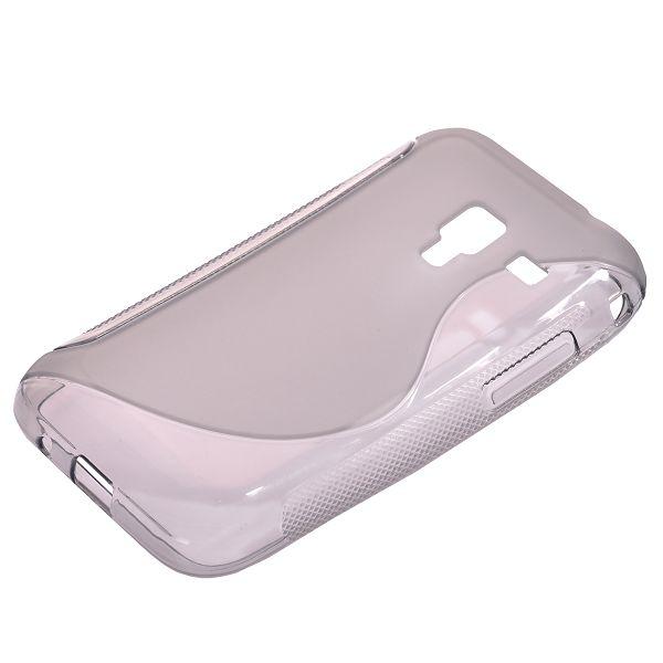 S-Line Transparent (Grå) Samsung Galaxy Ace Plus Skal