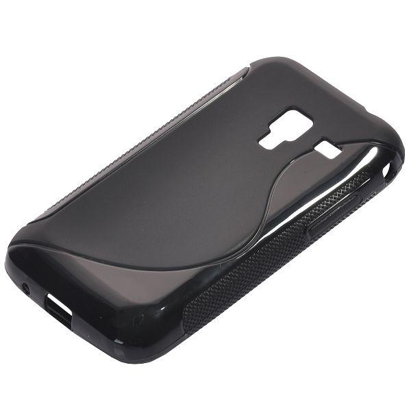 S-Line Massive (Svart) Samsung Galaxy Ace Plus Skal