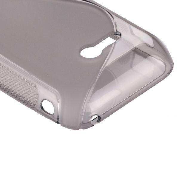 S-Line Transparent (Grå) Sony Xperia Tipo Skal