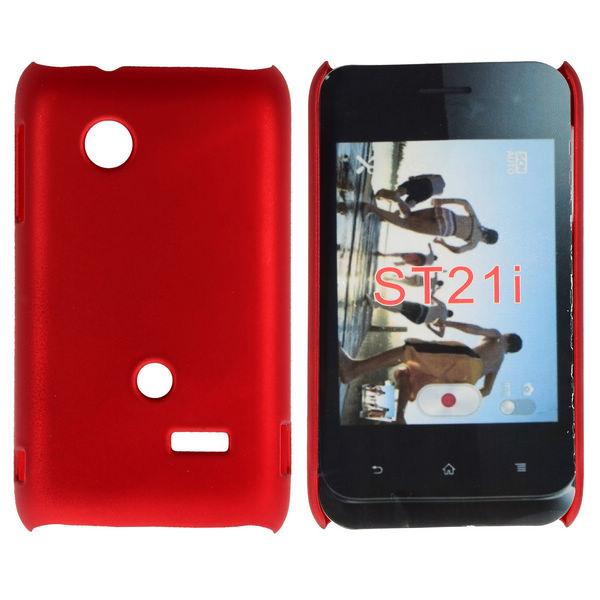 Hårdskal (Röd) Sony Xperia Tipo Skal