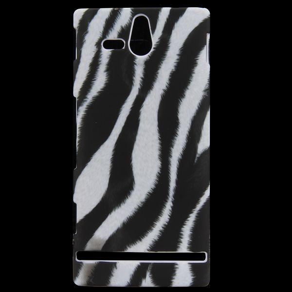 Safari (Vertical Zebra) Sony Xperia U Skal
