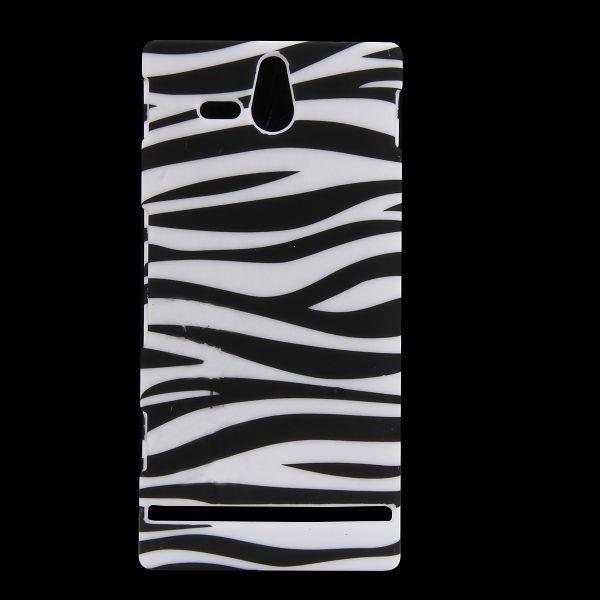 Safari (Horizontell Zebra) Sony Xperia U Skal