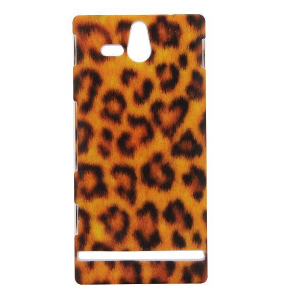 Safari (Orange Leopard) Sony Xperia U Skal