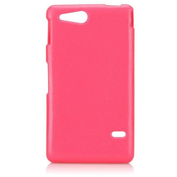 Glitter Shell (Het Rosa) Sony Xperia Go Skal