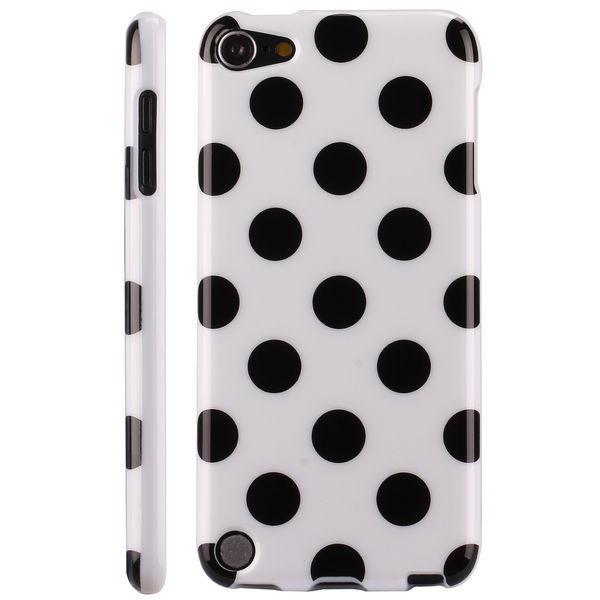 Polkaprickar (Vit) iPod Touch 5 Skal