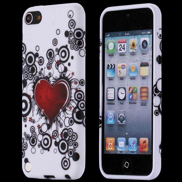 Symphony (Rött Hjärta & Cirklar) iPod Touch 5 Skal