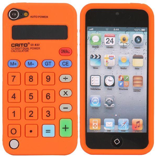 Calculator (Orange) iPod Touch 5 Silikonskal