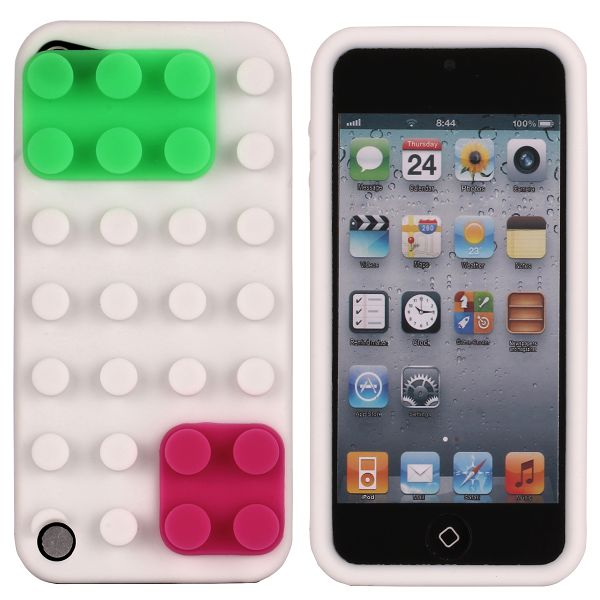 KEGO (Vit) iPod Touch 5 Silikonskal