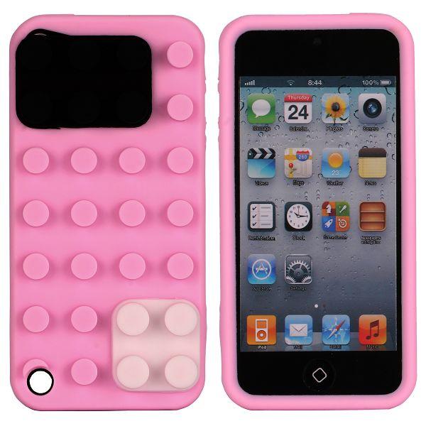 KEGO (Rosa) iPod Touch 5 Silikonskal