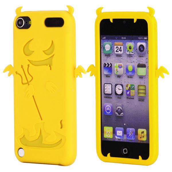 Demon (Gul) iPod Touch 5 Silikonskal
