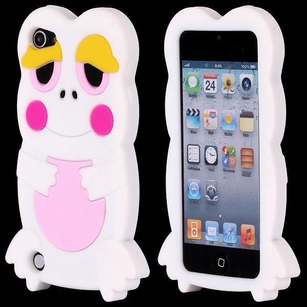 Froggy (Vit) iPod Touch 5 Silikonskal