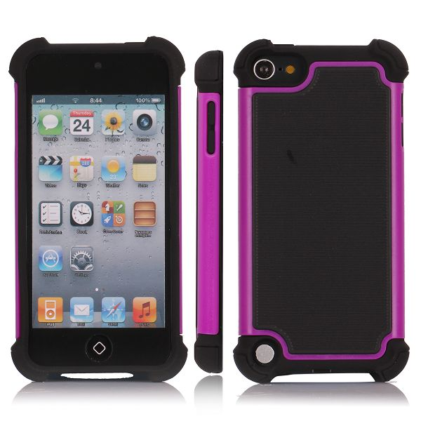 Impact (Lila) iPod Touch 5 Kombinationsskal