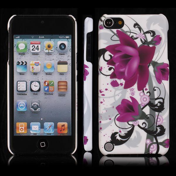 Valentine (Två Lila Blommor) iPod Touch 5 Skal