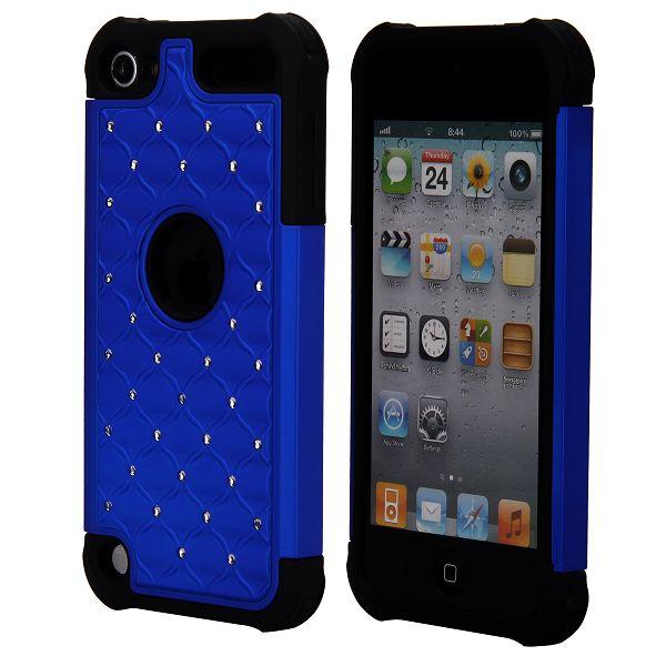 Bling Neutronic (Blå) iPod Touch 5 Kombinationsskal
