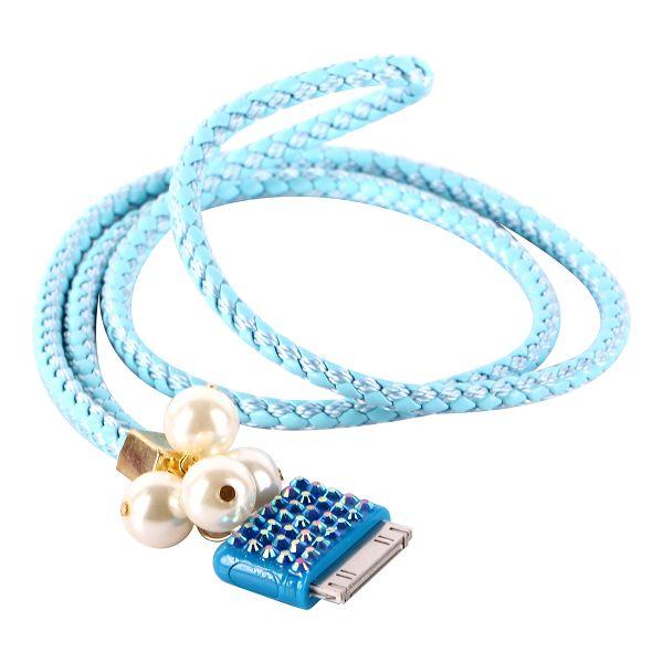 Bling Handledsrem för iPod/iPhone 3GS/4/4S (Ljusblå)