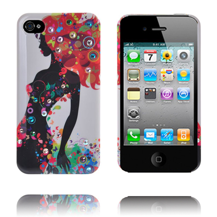 Diva (Vit Sky) iPhone 4 Skal