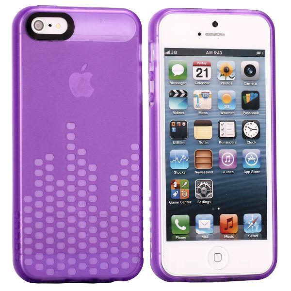 Global DJ (Lila) iPhone 5/5S Silikonskal
