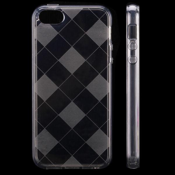 Zimba (Grå) iPhone 5 & 5S Silikonskal