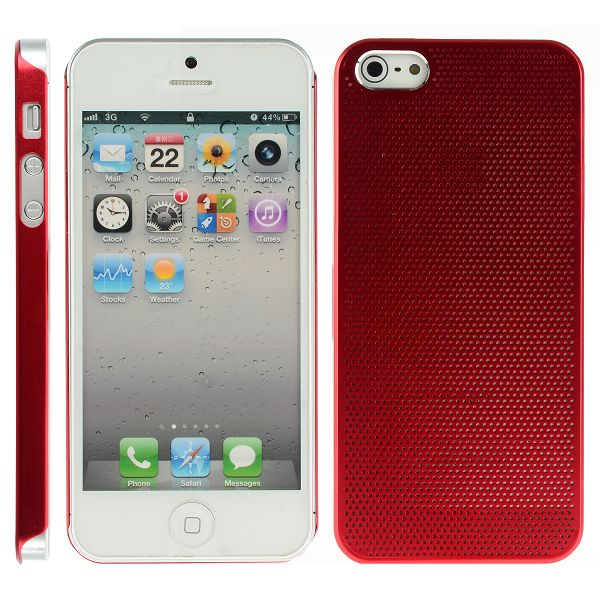 Supra Alu Skal (Röd) iPhone 5 Aluminium Skal