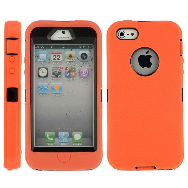 ULTRA SAFE (Orange) iPhone 5/5S Kombinationsskal