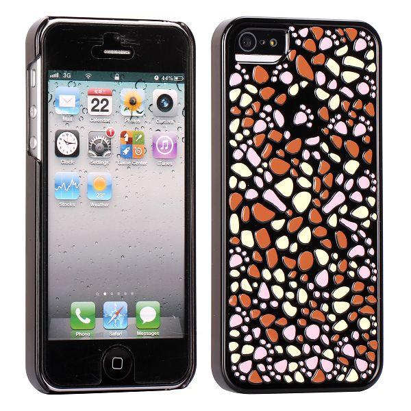 Rainbow Stones (Orange) iPhone 5 Skal