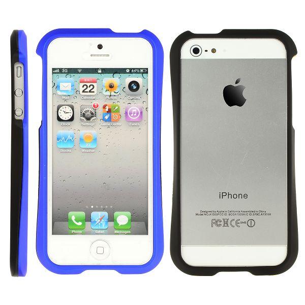 HardSkal Bumper (Mörkblå) iPhone 5 Skal