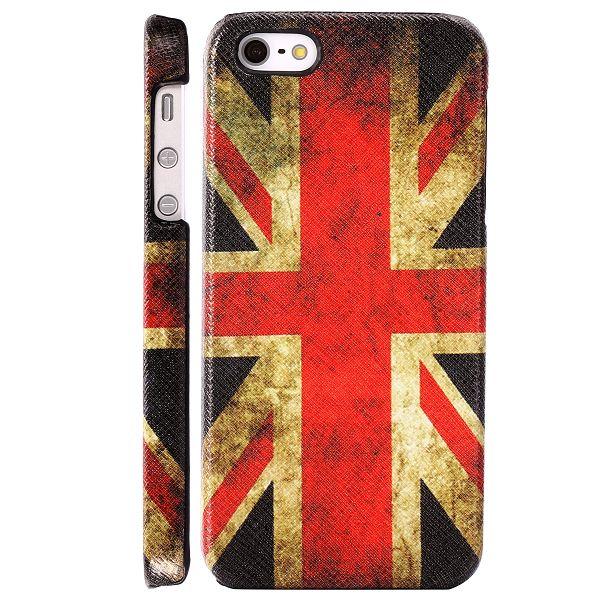 Classic Patriot (Retro British Flag) iPhone 5 Skal