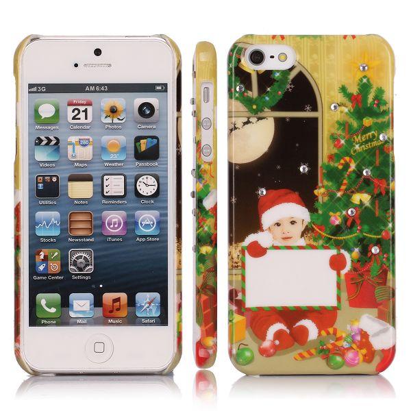 Merry Christmas Bling (Pojke – Julafton) iPhone 5 Skal