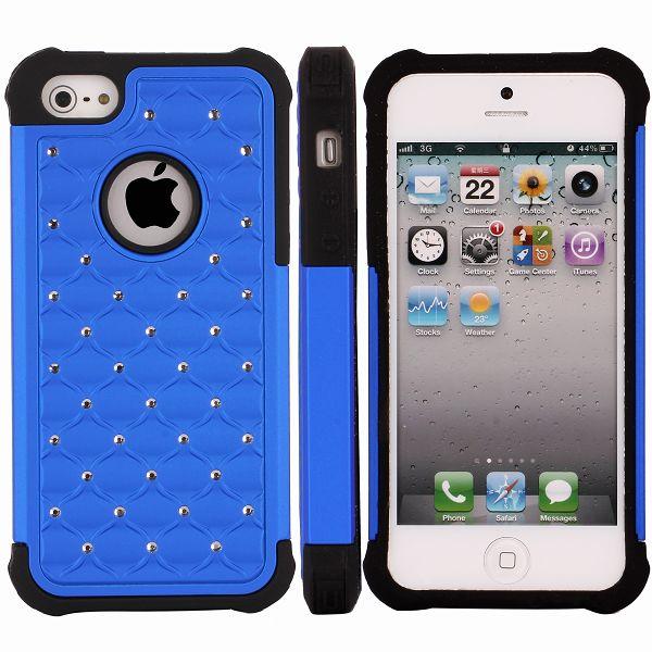 Bling Neutronic (Blå) iPhone 5 / 5S Skal