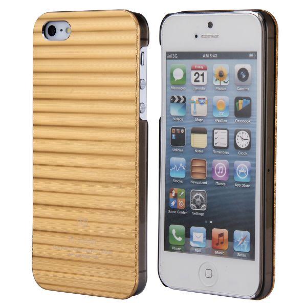 Alu Line (Guld) iPhone 5 / 5S Aluminium Skal