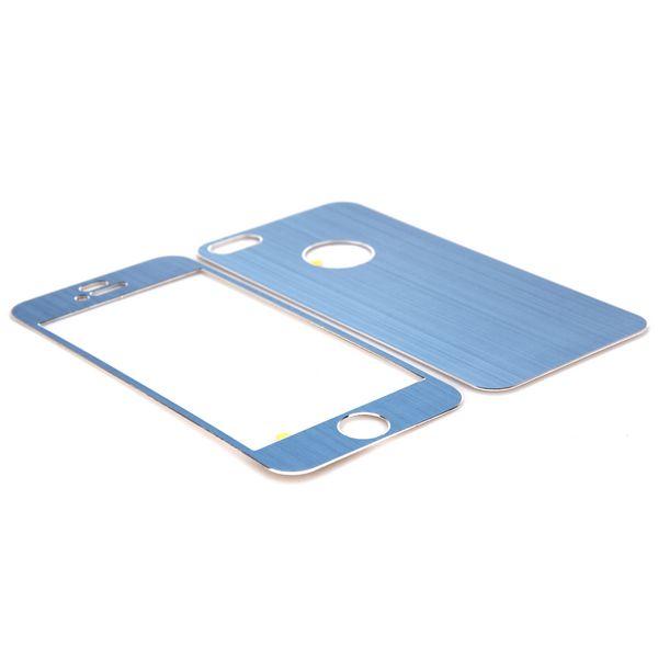 Brushed Aluminium (Ljusblå) iPhone 5 Skal