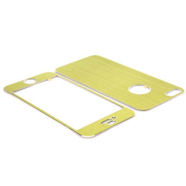 Brushed Aluminium (Grön) iPhone 5 Skal