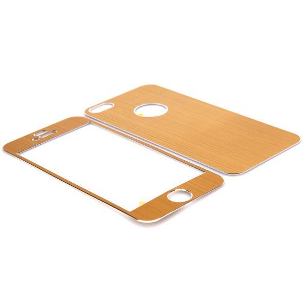 Brushed Aluminium (Gyllene) iPhone 5 Skal