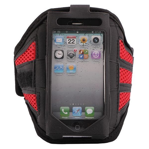 iRUNNER iPhone 5 Sportarmband (Röd)