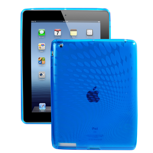 Electron Wave Ver. II (Blå) iPad 3/iPad 4 Skal