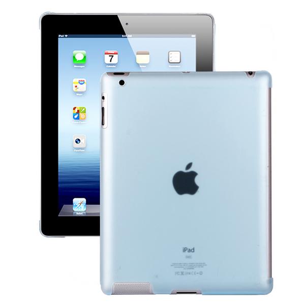 Hyaline – Smart Cut (Transparent Ljusblå) iPad 2 Skal