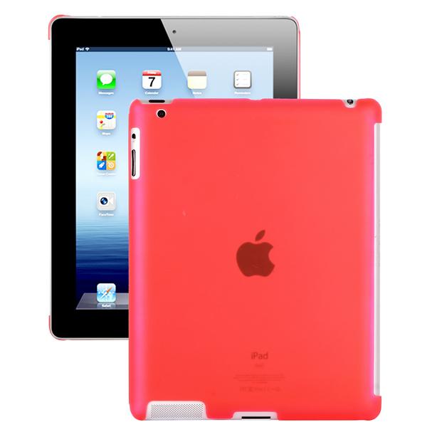 Hyaline – Smart Cut (Transparent Röd) iPad 2 Skal
