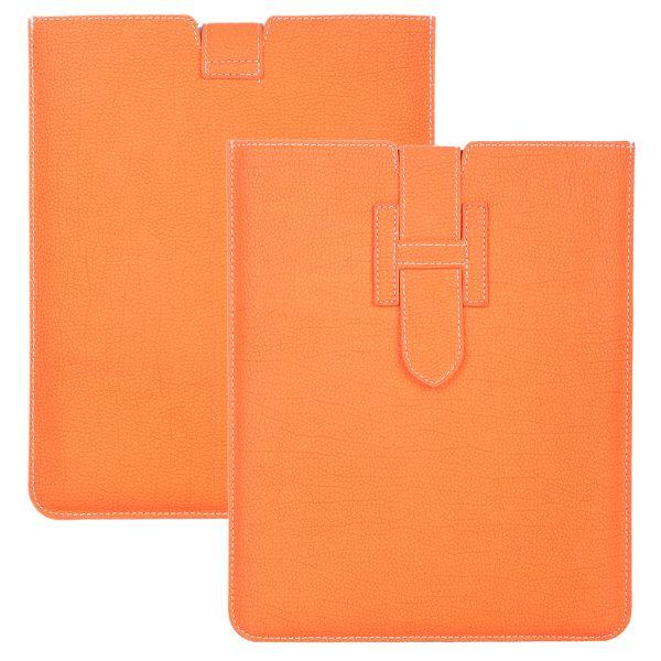 Business Läderpåse för iPad 3/iPad 4 (Orange)