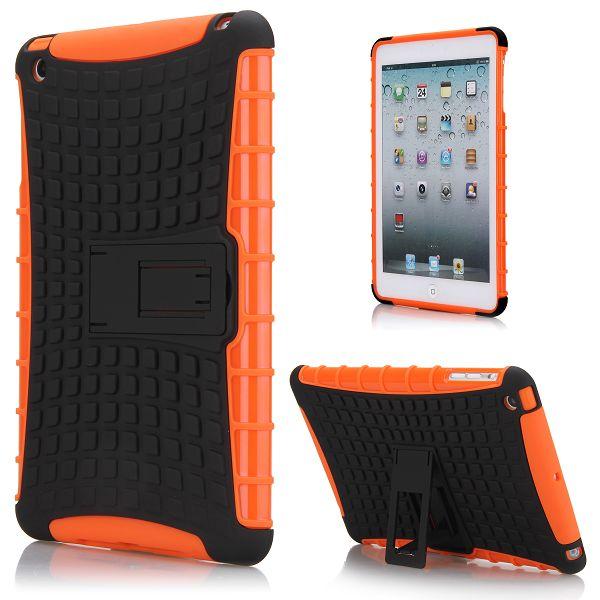 Neutronic Kick-Stand (Orange) iPad Mini Kombinationsskal