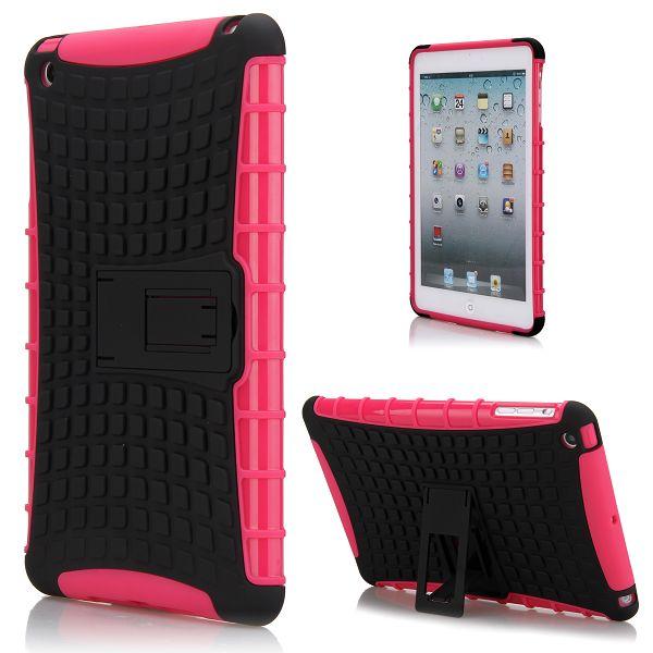 Neutronic Kick-Stand (Het Rosa) iPad Mini Kombinationsskal