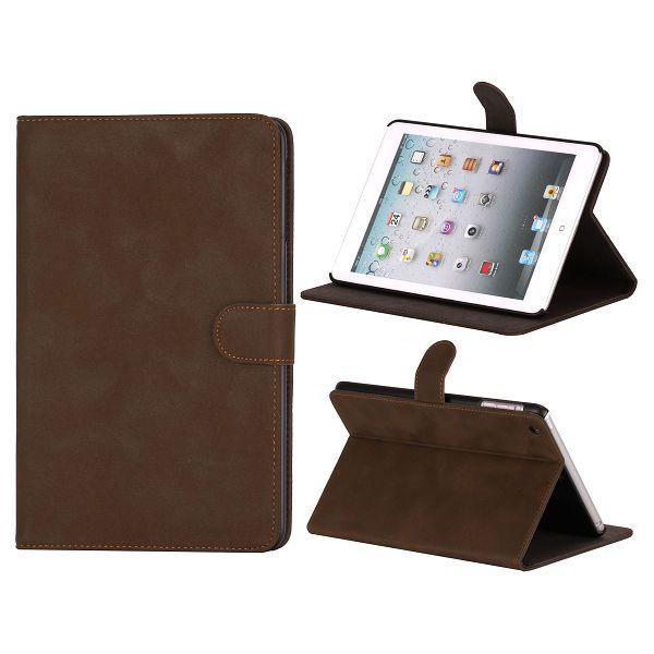 Condor iPad Mini Läderfodral – FlipStand (Mörkbrun)
