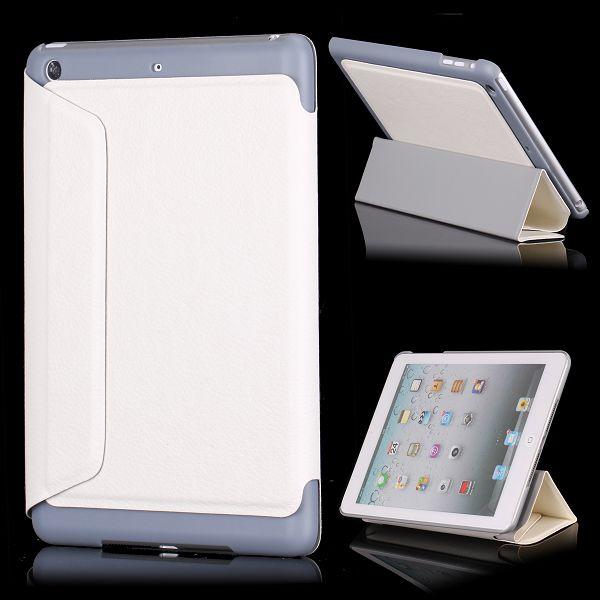 Sublime iPad Mini Läderfodral – FlipStand (Vit)