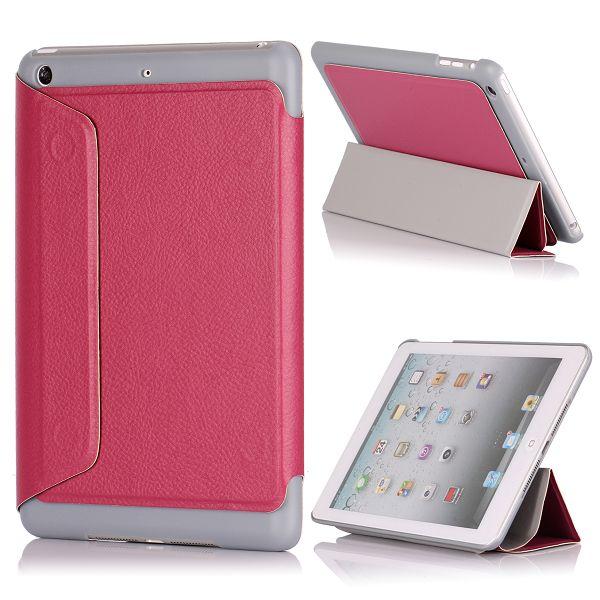 Sublime iPad Mini Läderfodral – FlipStand (Het Rosa)