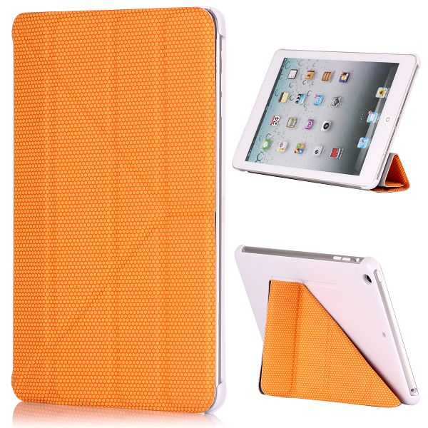 HexagonTripleFold Full-Case iPad Mini Smart (Orange)