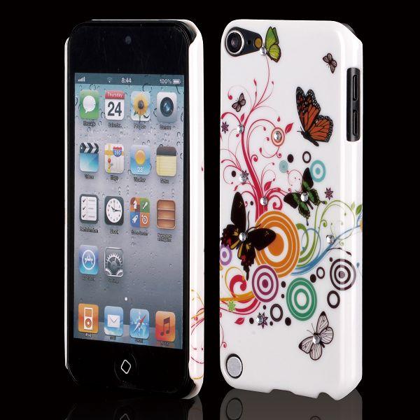 Valentine Bling (Blandade Cirklar & Fjärilar) iPod Touch 5 Skal