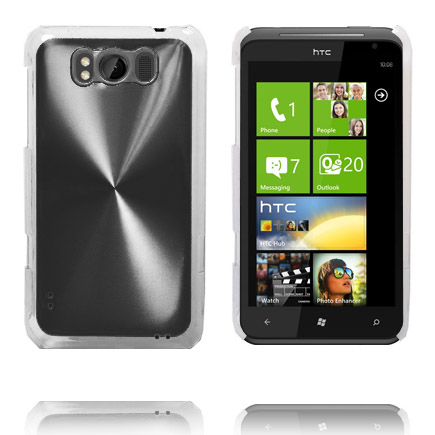 Aluminium Shield (Svart) HTC Titan Skal